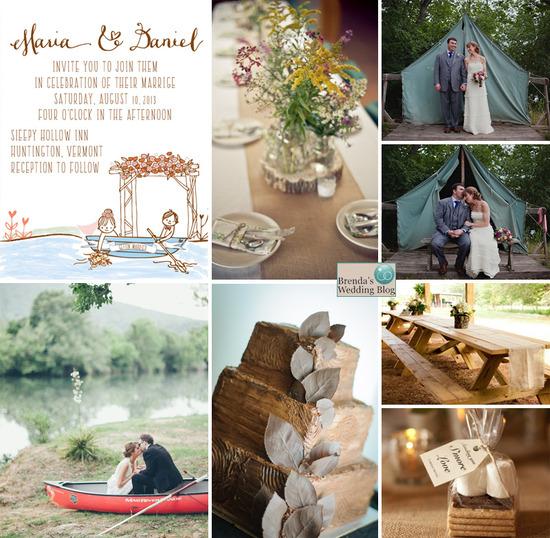 River Themed Wedding Invitations as nice invitation ideas