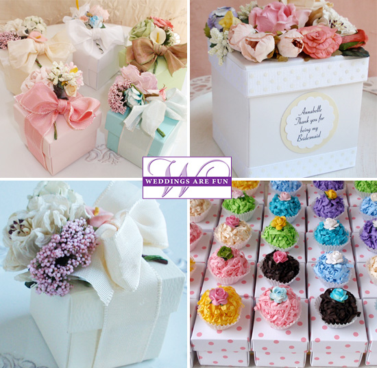 Wedding Favor Boxes Boxes With Flowers Cupcake Boxes Tins Simple Decorative Cupcake Boxes