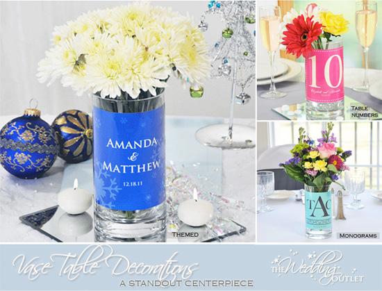 Vase Wedding Decoration Ideas: Wednesday Wedding Accessory : Vase Table Decorations