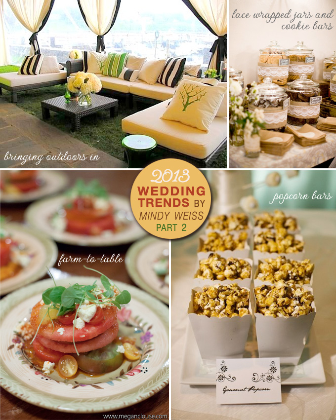 2013 wedding trends by Mindy Weiss {part 2}