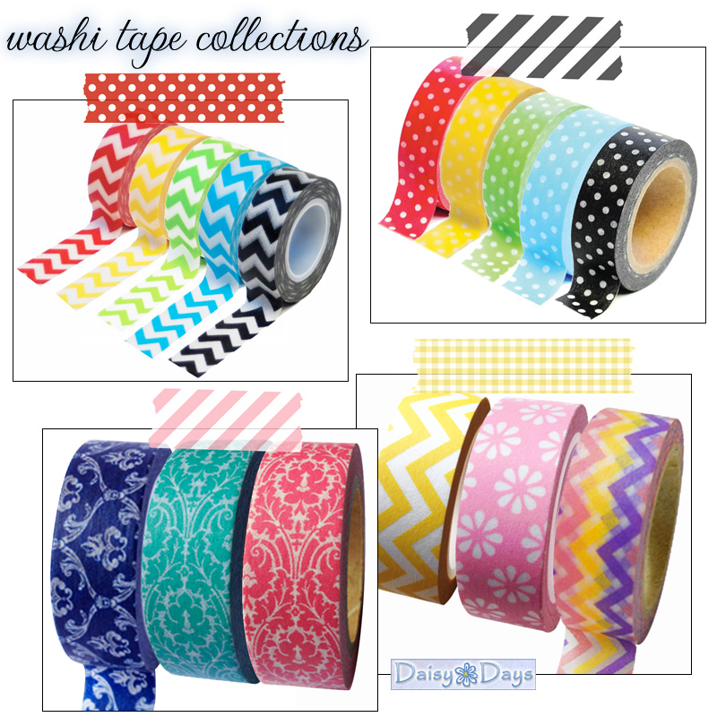 washi tape collections from Daisy Days