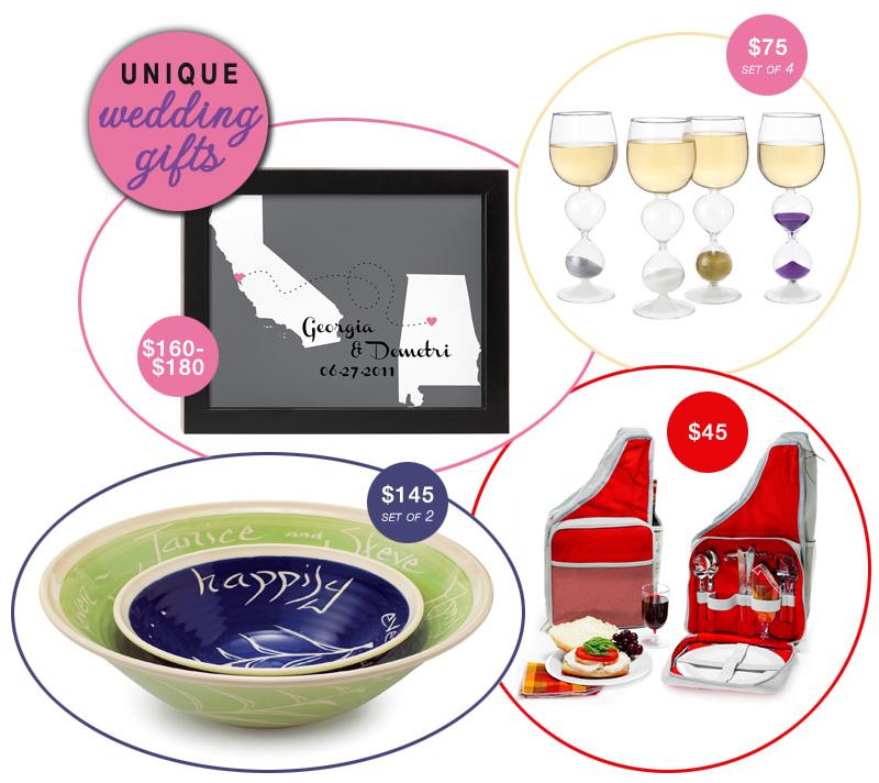Wedding Gift Ideas Cool : Unique Wedding Gift Ideas - Brendas Wedding Blog - affordable ...