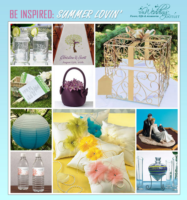 cool accessories for summer weddings