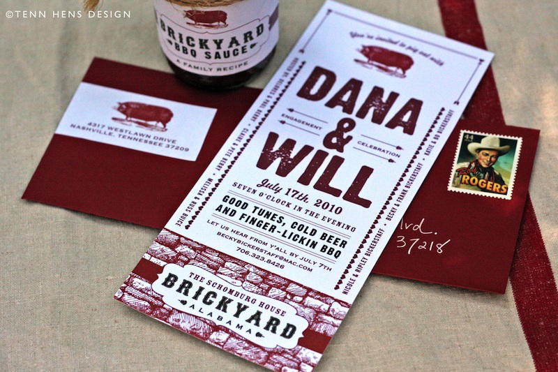 BBQ Wedding Invitation. Perfect Choice For Bridal Showers, Rehearsal  Dinners Or Rustic Weddings.