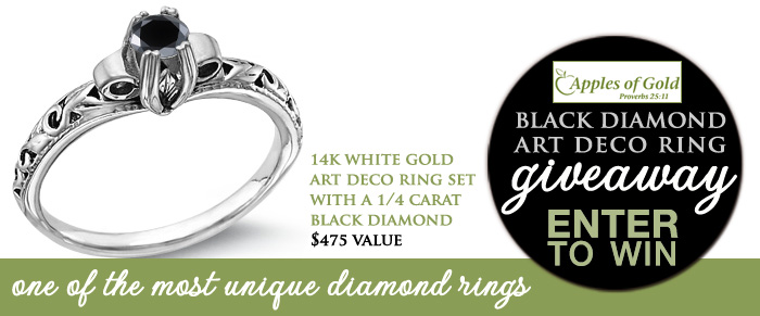black diamond ring giveaway