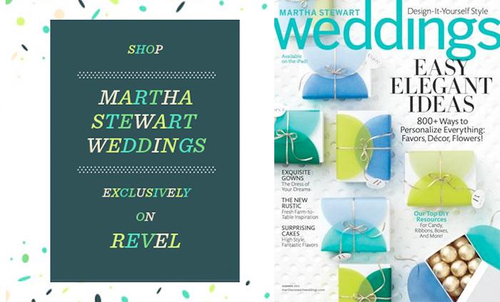 Shop Martha Stewart Weddings at Revel Blog