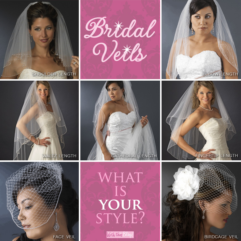 wedding veils . . . what is your style?