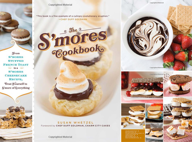 The S'mores Cookbook by Susann Whetzel