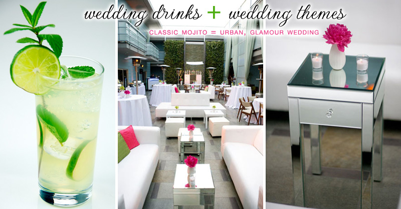 Classic Mojito, Shade Hotel Wedding