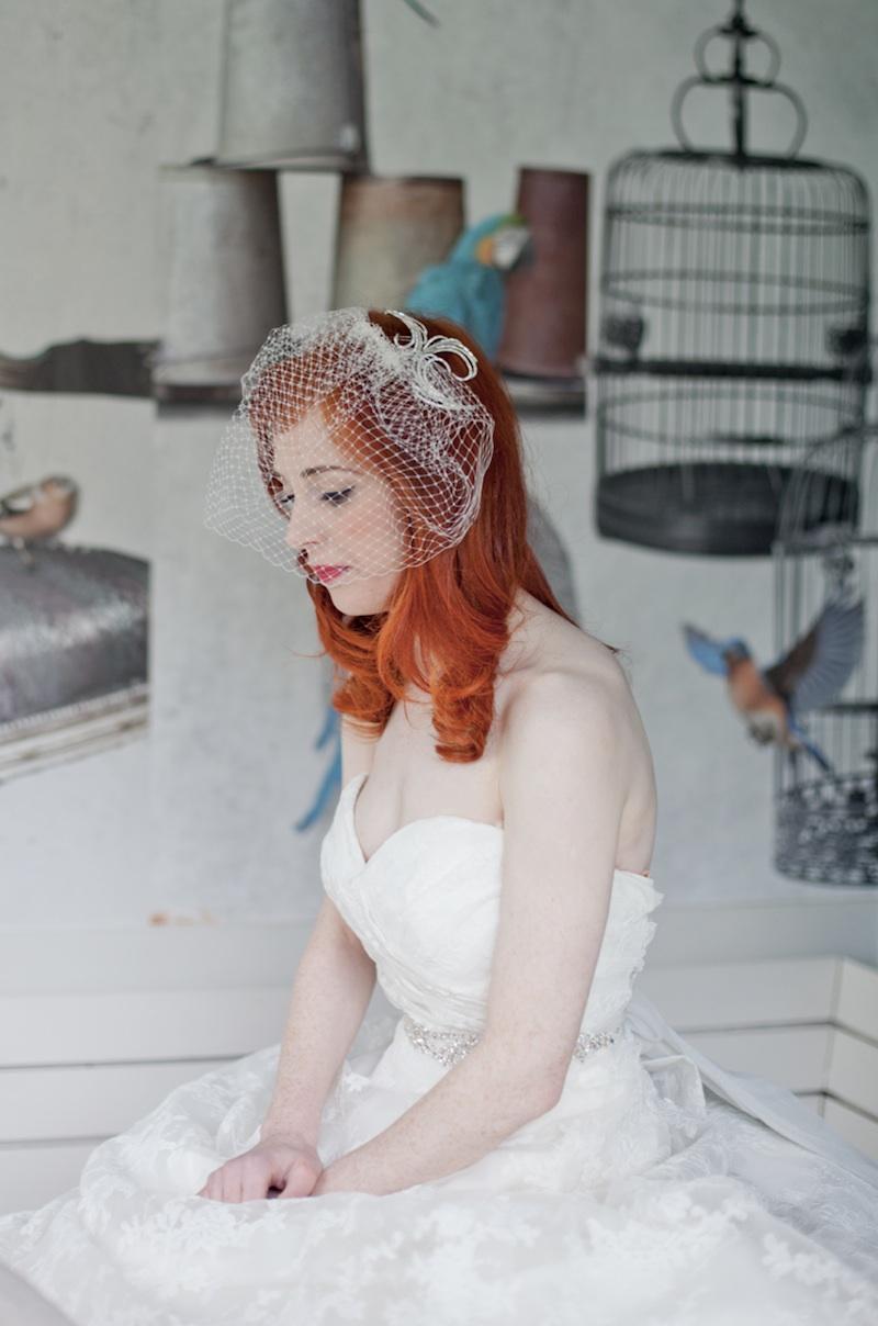 1940's Vintage Inspired Wedding Fashion Photo Shoot