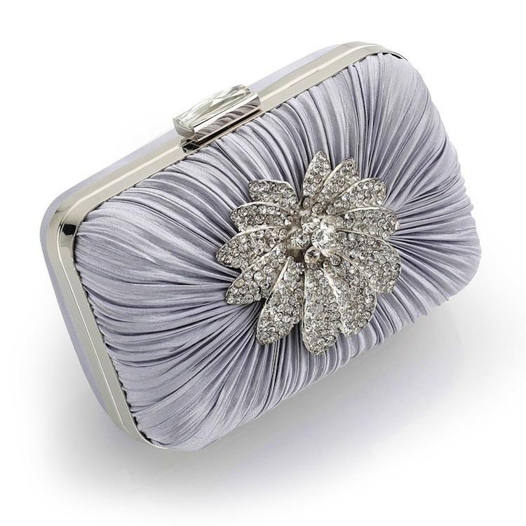 vintage silver hard case clutch bag : www.vintagestyler.co.uk @StyleMeVS