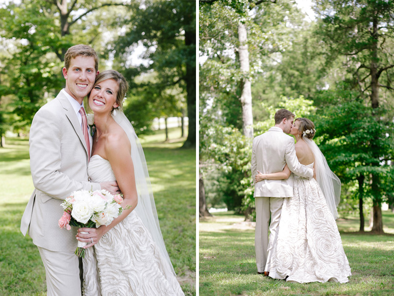 a happy bride and groom from the South | photo by  www.annabellacharles.com