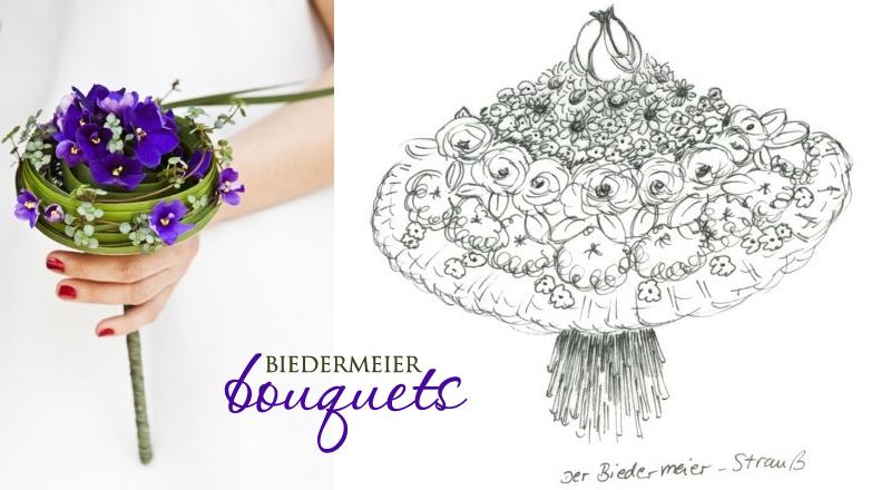 Unique Wedding Flowers Concentric Wedding Bouquets Aka Biedermeier Brendas Wedding Blog