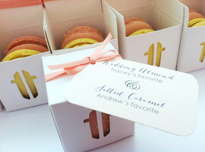 Wedding Favor Boxes For Macarons : ... Wedding Day with Signature Macaron Towers and/or Macaron Favor Boxes