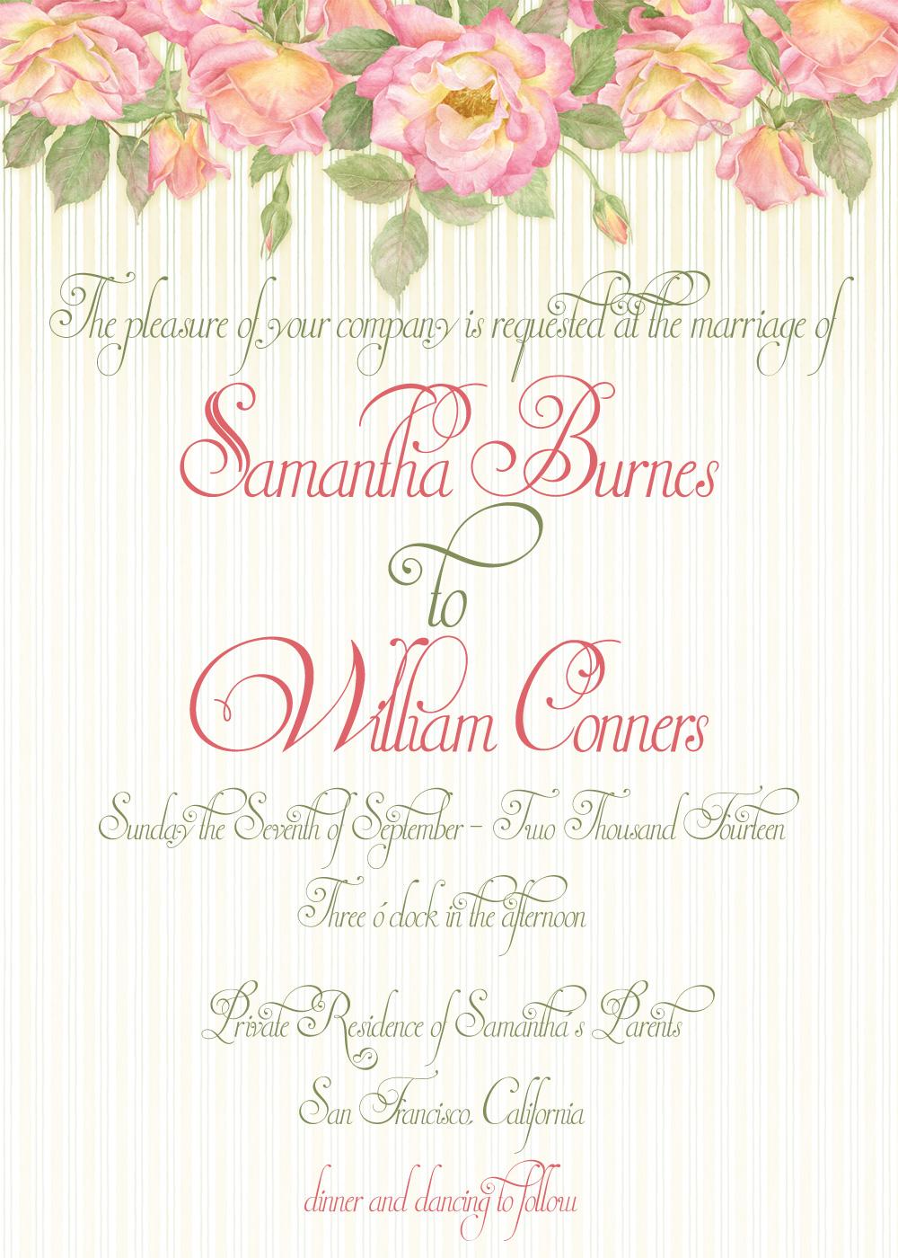 Wedding Scripts Fonts.An Elegant Wedding Invitation Script Font At 50 Off