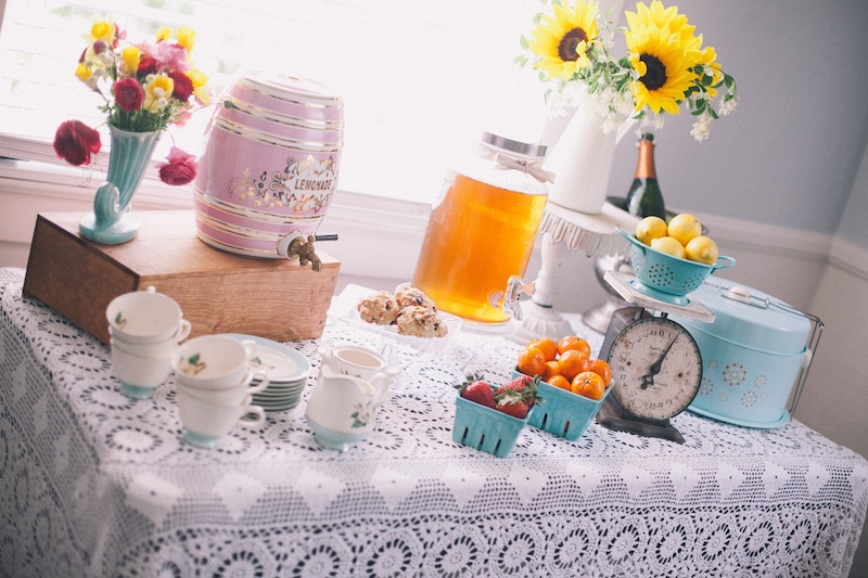 A Vintage Brunch Bridal Shower
