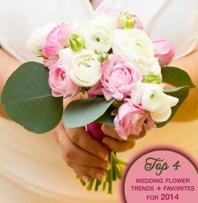 Pink and White Ranunculus Wedding Bouquet | by Eight Tree Street | Photo by Teresa Wood Photography