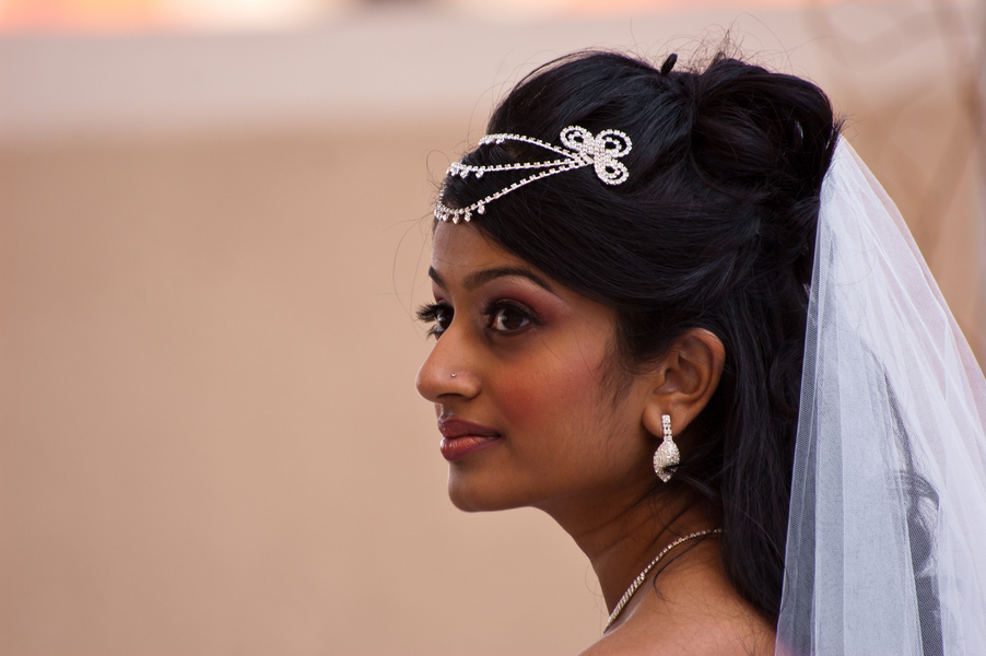 real bride-to-be from an Indian Fusion styled shoot | photo by Dreamcicle Studios