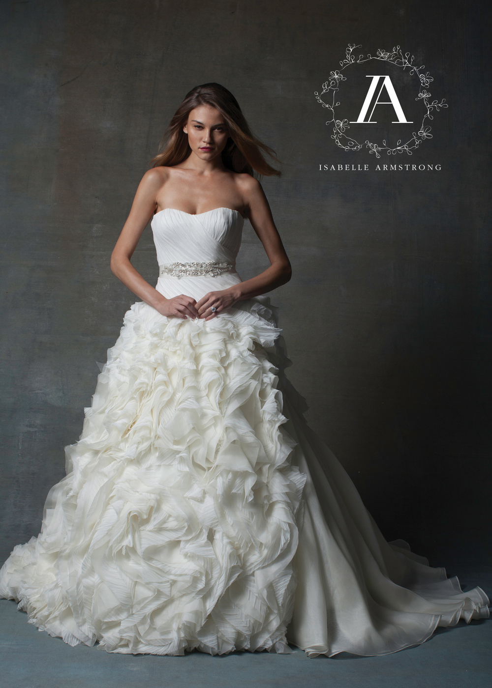Isabelle Armstrong Bridal Couture Wedding Gown | style Tea
