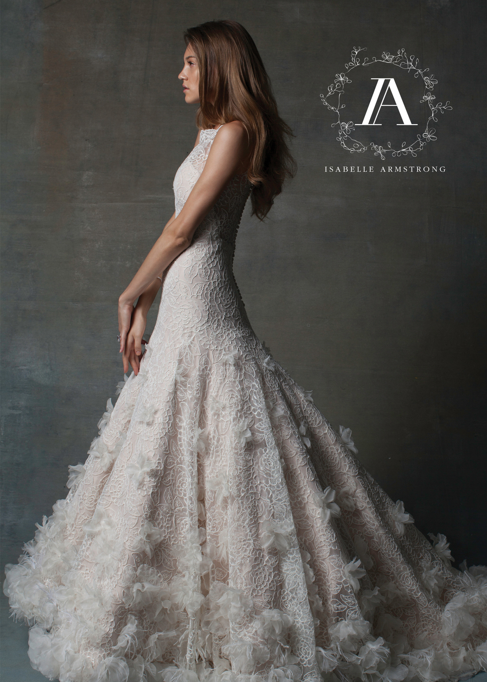Isabelle Armstrong Bridal Couture Wedding Gown | style Rosa