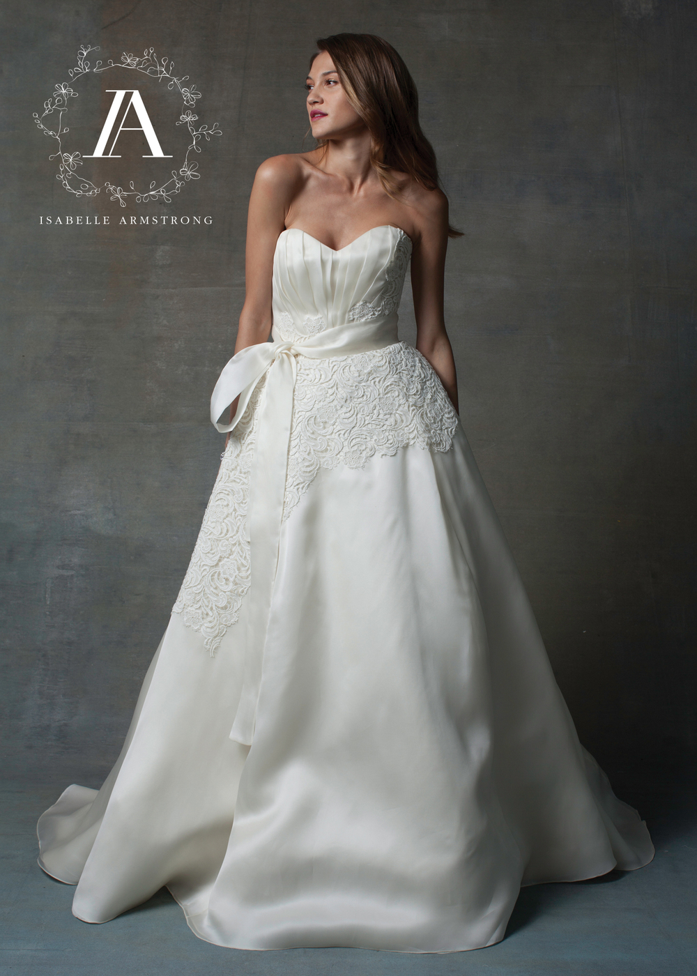 Isabelle Armstrong Bridal Couture Wedding Gown | style Marissa