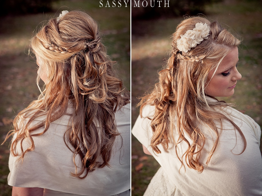 Sleeping Beauty Inspired Wedding #Princess #Bride #Hairstyles by Sassy Mouth Photography