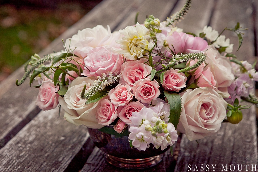 Sleeping Beauty Inspired Wedding Flowers by Sassy Mouth Photography