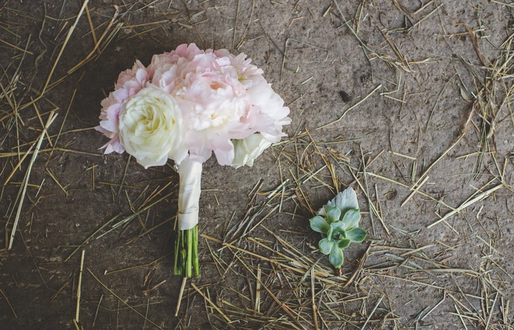 Beautiful pastel wedding bouquet | photo by Jessica Oh Photography