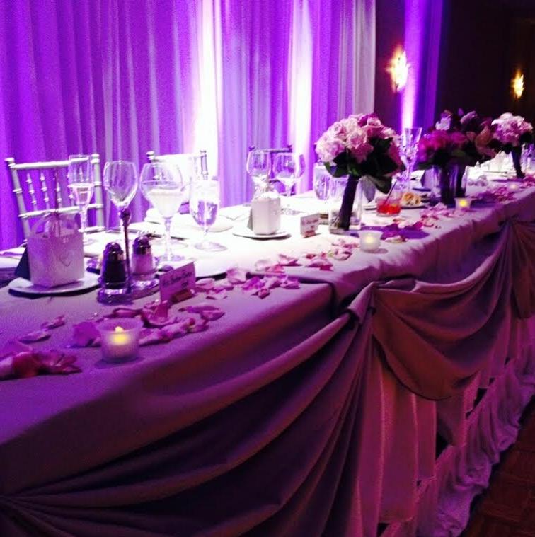 Diy Led Uplighting Rental Atlanta: Brenda's Wedding Blog