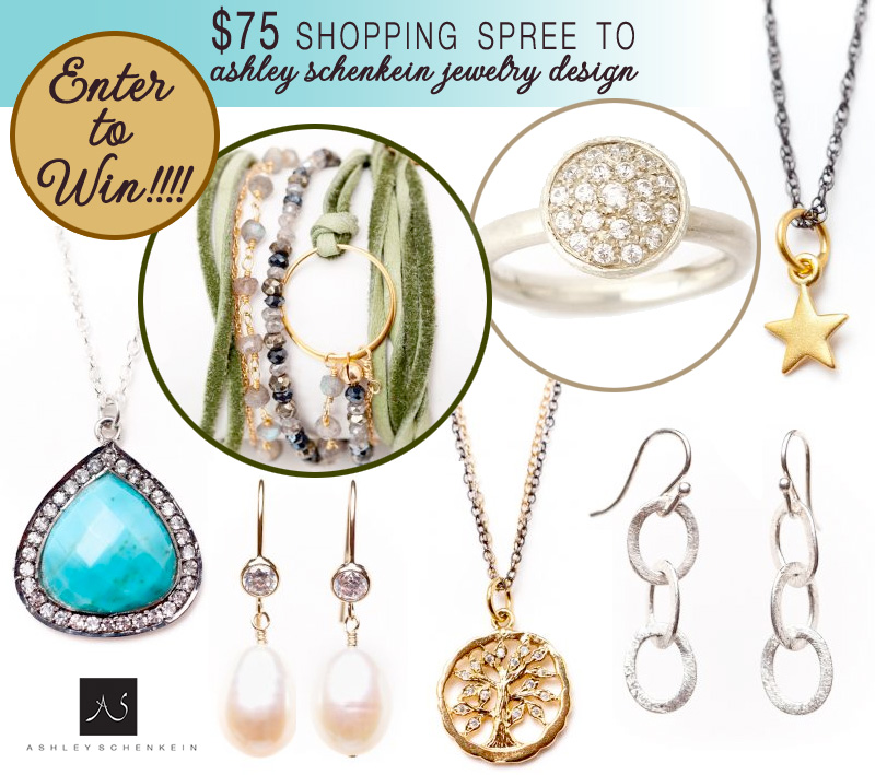 Enter to Win $75 in Ashley Schenkein Bridal Jewelry on Brenda's Wedding Blog #weddingjewelry #giveaway