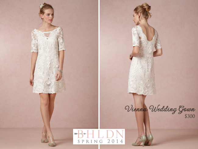 BHLDN Spring 2014 Wedding Gown Collection : Vienna