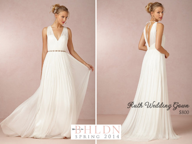 BHLDN Spring 2014 Wedding Gown Collection : Ruth