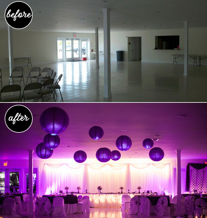 Diy Uplighting For Weddings Add Color And Ambience With