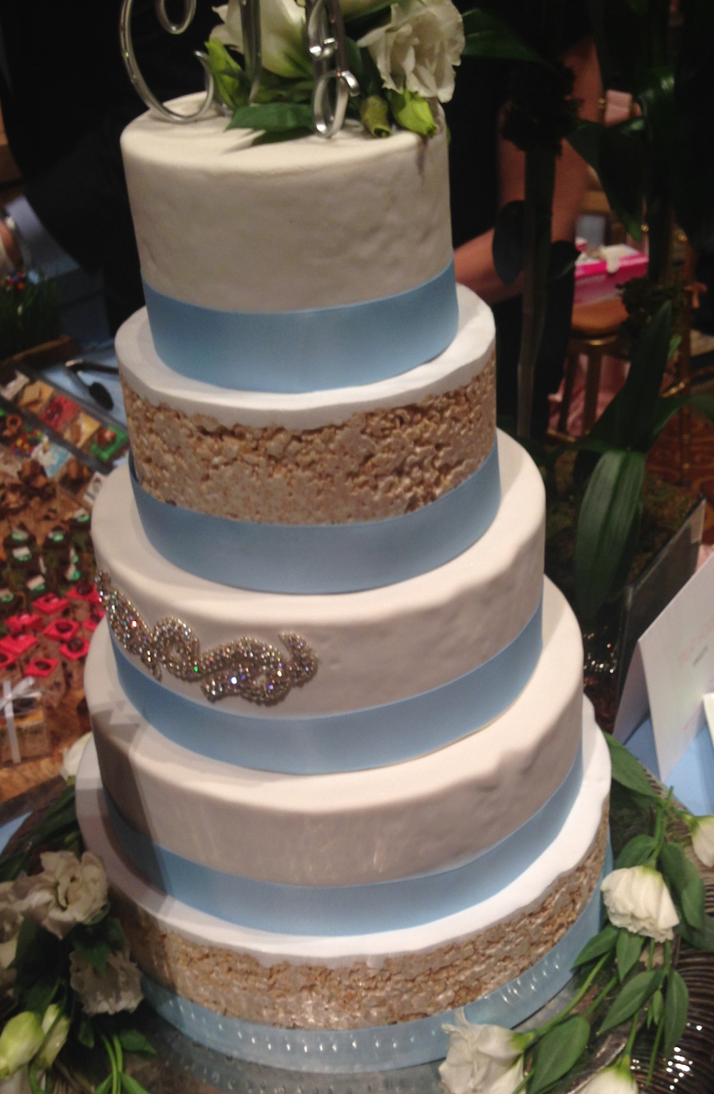 wedding cake affordable nyc rice krispie treat wedding cake by treat house in nyc 21715