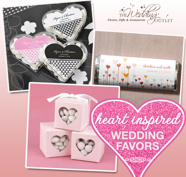 Heart Inspired Wedding Favors Brendas Wedding Blog