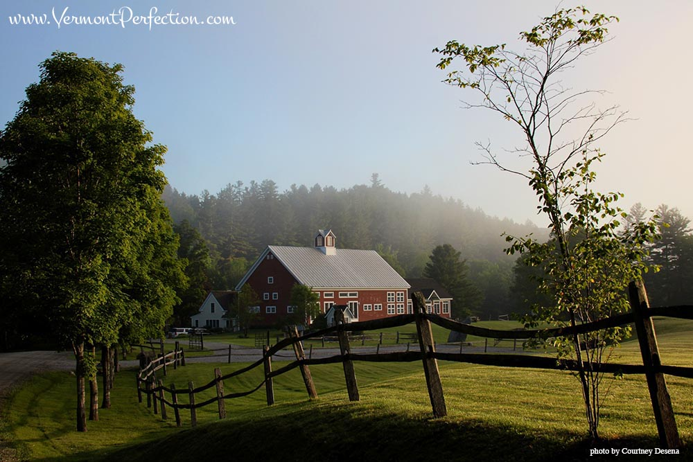 Riverside Farm in Vermont - #rustic #wedding #destination #venue