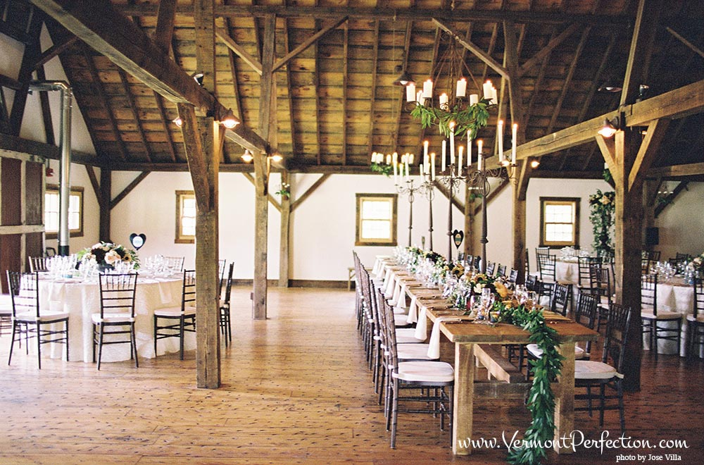 Riverside Farm #Vermont #Wedding #Reception {photo by Jose Villa} #rusticweddings #barnweddings