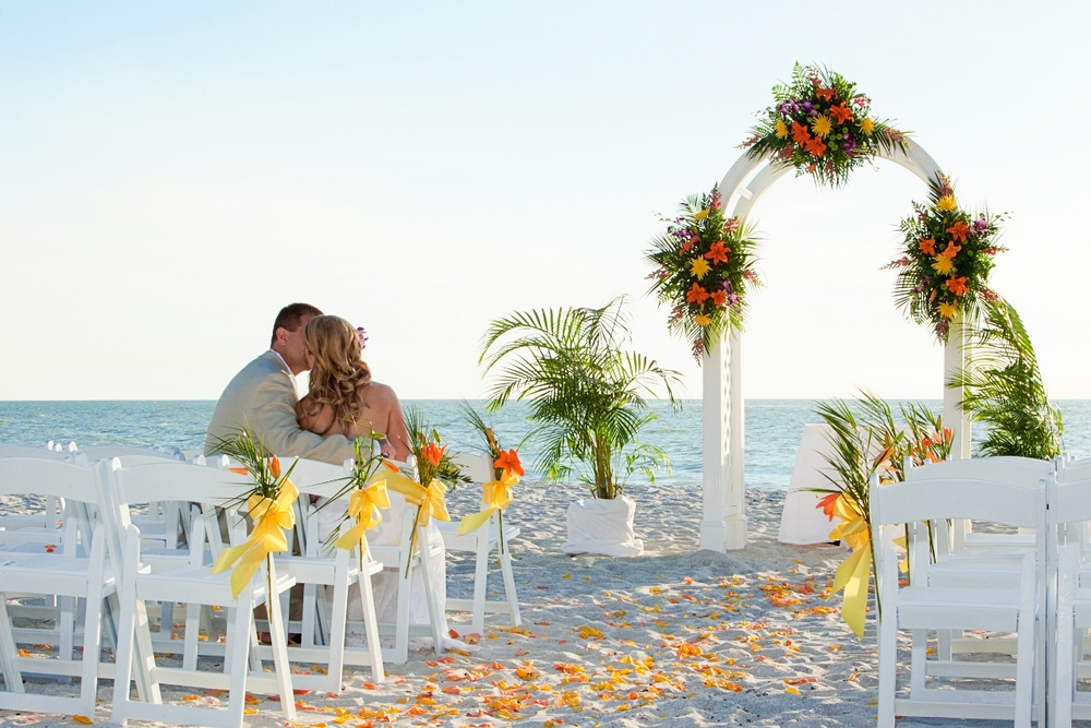 Wedding Ceremony Set-Up for Gulf-front Wedding -- The Naples Beach Hotel & Golf Club.jpg