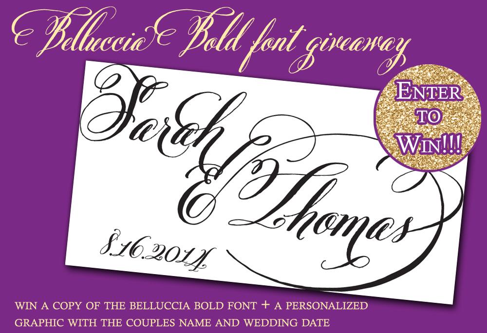 Belluccia Font Free Download