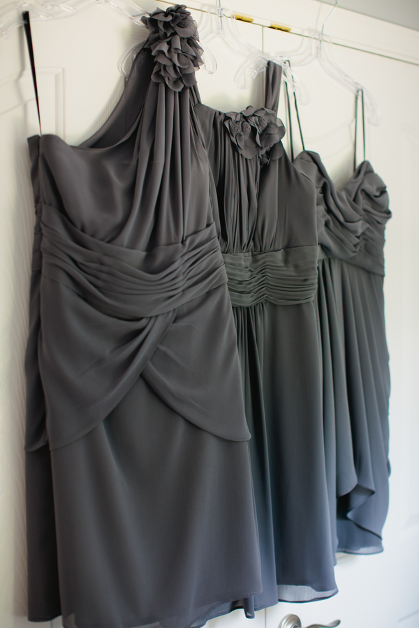 grey Watters bridesmaids dresses | photo by Mary Dougherty Photography
