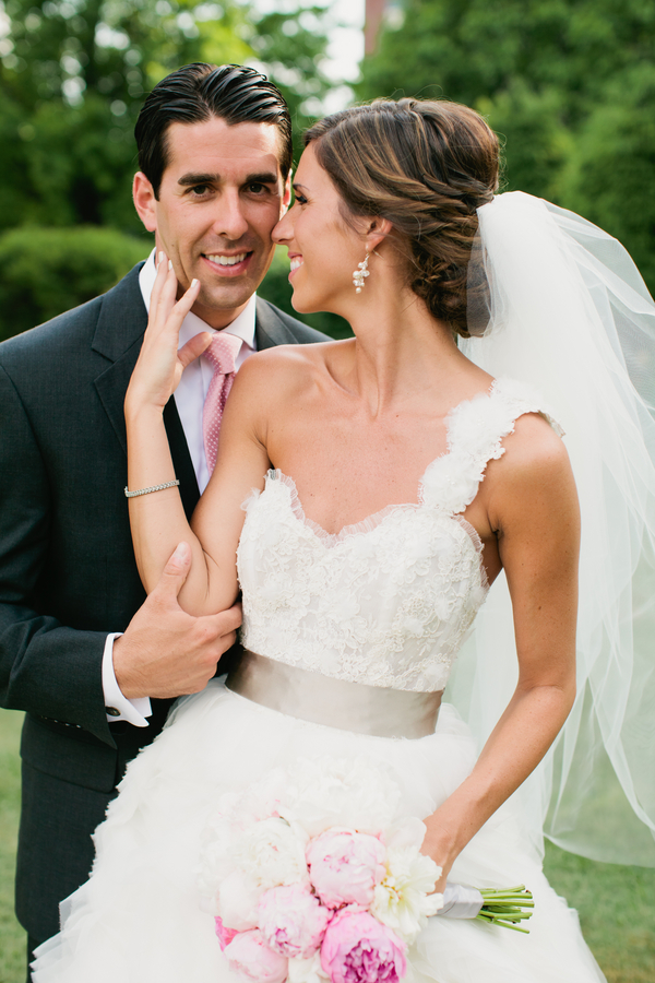 happy bride and groom | photo by Mary Dougherty Photography