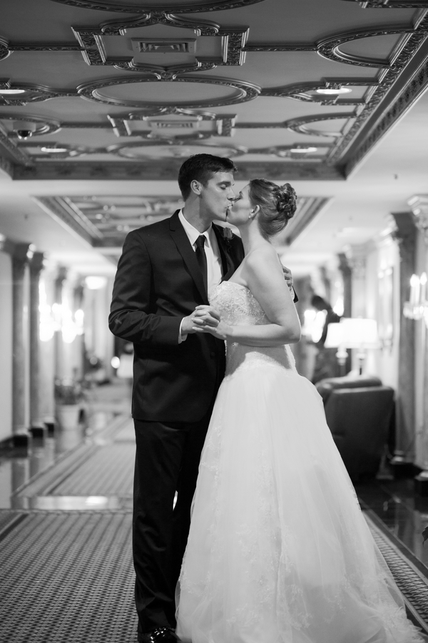 beautiful bride and groom portrait from Kate's Lens Photography