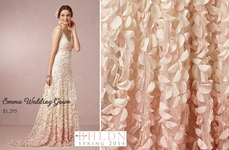 #BHLDN Spring 2014 #Wedding #Gown Collection : Emma Wedding Dress