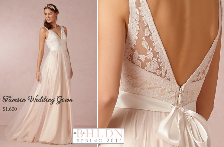 Bhldn wedding gowns the spring ii collection is unveiled for Anthropologie beholden wedding dress