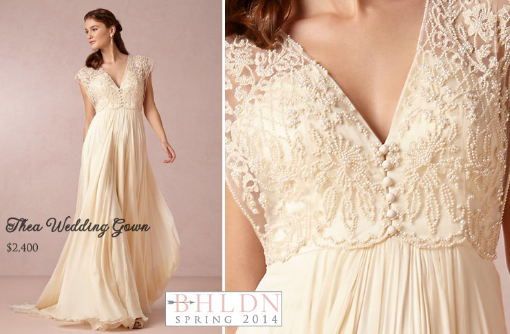 #BHLDN Spring 2014 #Wedding #Gown Collection : Thea Wedding Dress