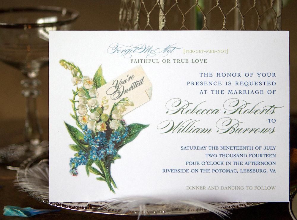 Forget Me Not Wedding Invitations: Sarah Janks : The Forget Me Not Wedding Gown Collection