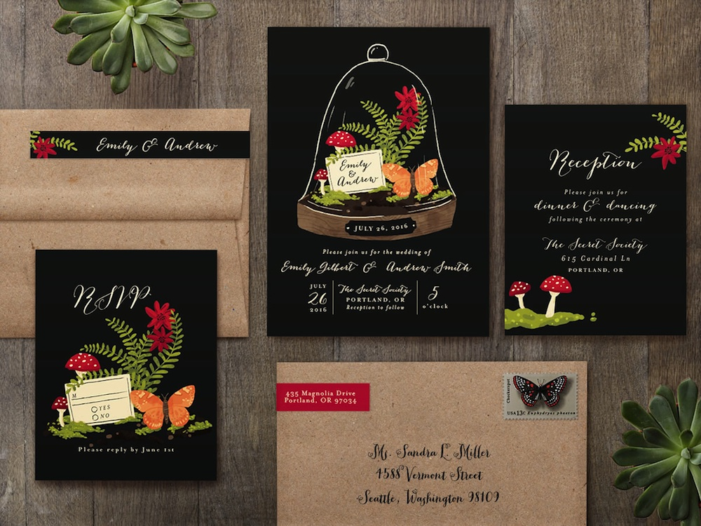 B Wedding Invitations Coupons: Spring Wedding Sale At Minted.com For Gorgeous Wedding