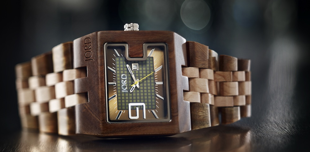 JORD Watch | 94A Series – hand-made with sustainable materials ... 100% natural wood