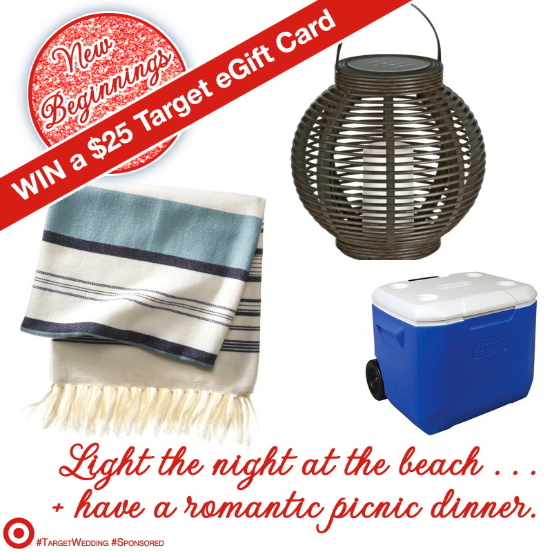 Celebrate New Beginnings and Win a $25 eGift Card to #Target #TargetWedding