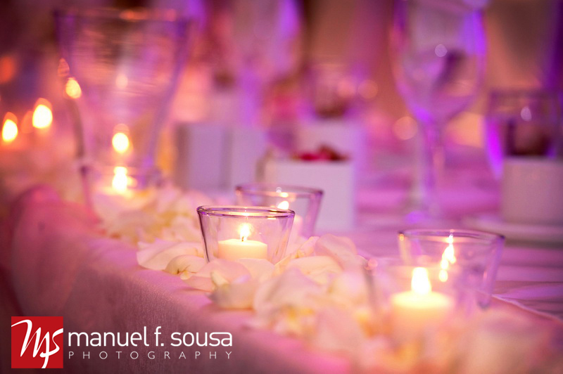 Pretty Pink and Purple Candlelit Wedding | photo by Manuel F. Sousa Photography | Wedding Coordination by Madeline's Weddings and Events